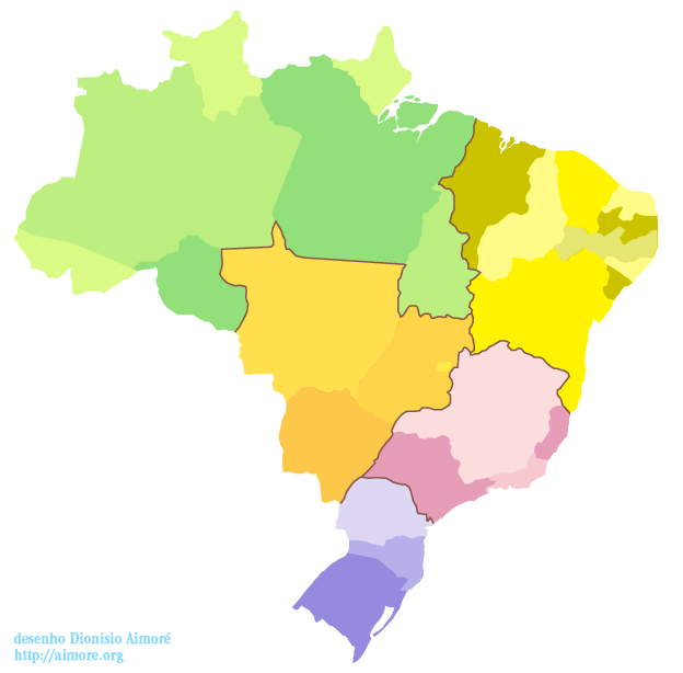 mapa do brasil clicavel