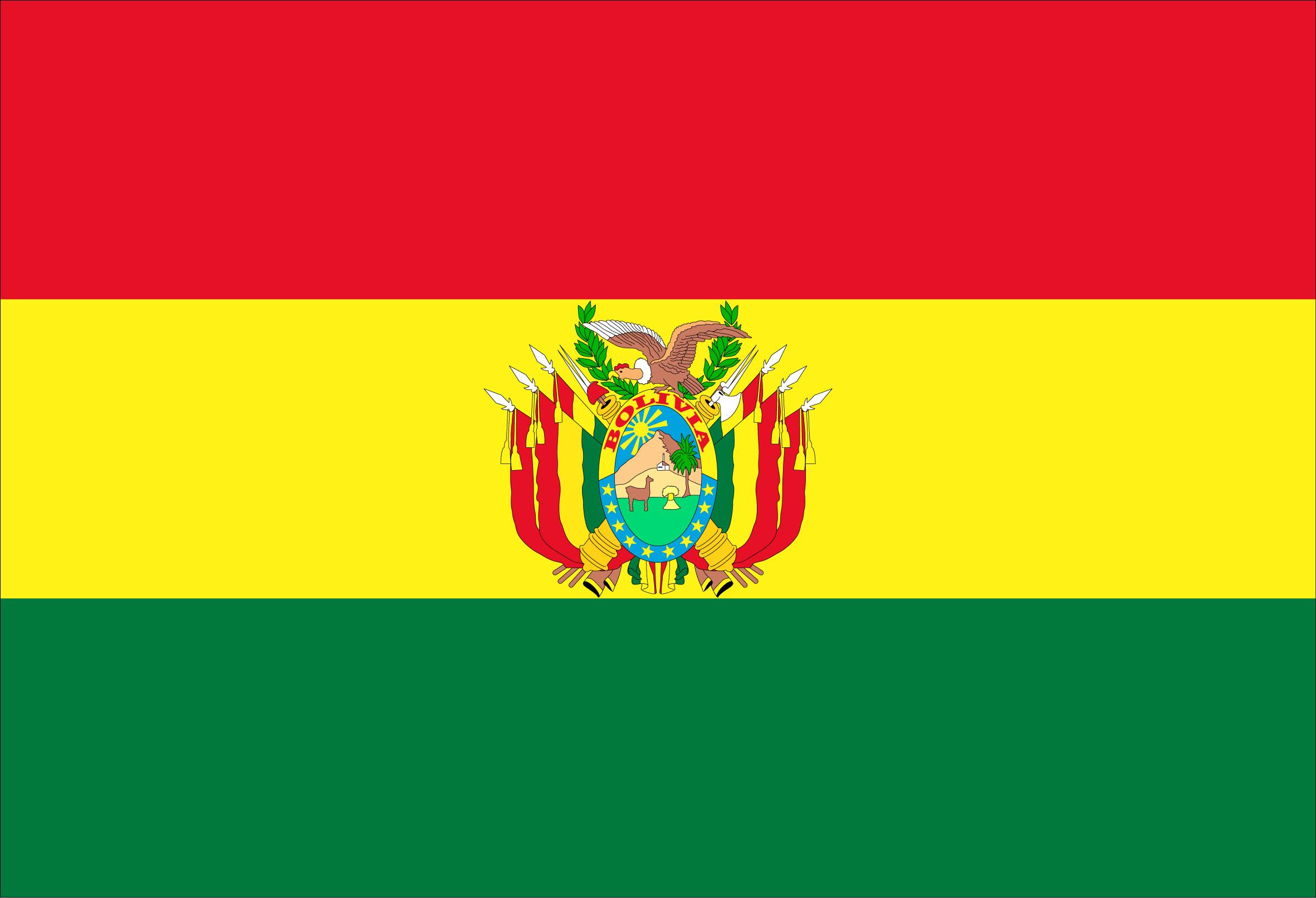 Flag of Bolivia Plurinational State